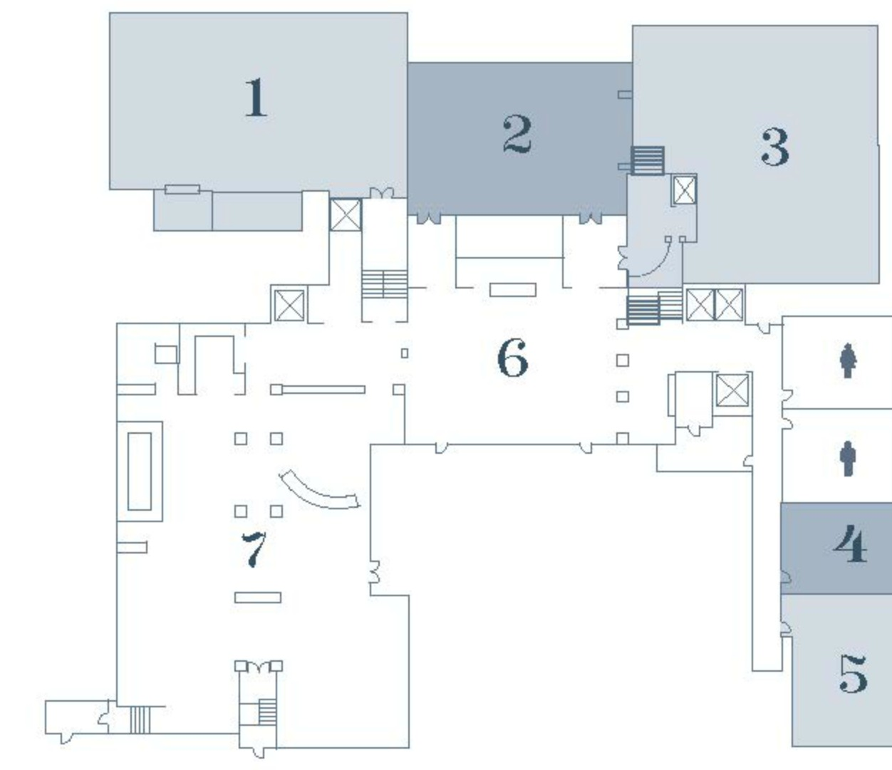 Cambridge Wedding Venue - Layout